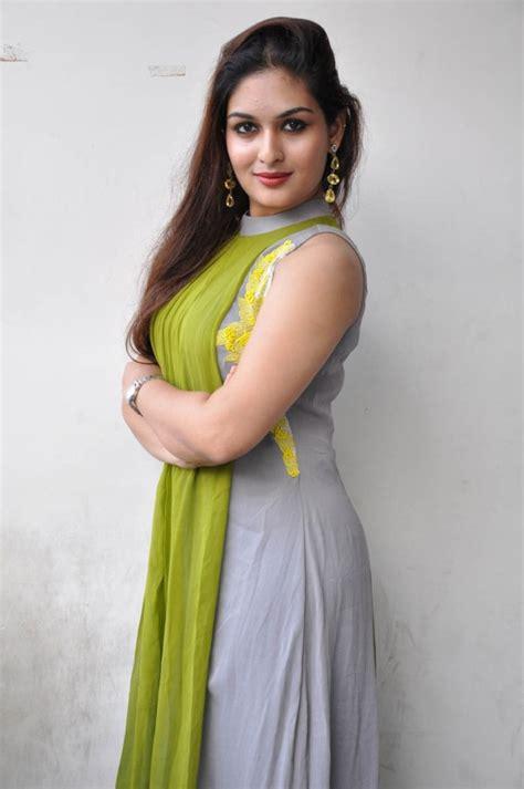 Actress Prayaga Martin Stills In Green Dress New Movie