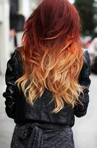Ombré Hair Rouge : 1001 variantes du balayage caramel pour sublimer votre ~ Melissatoandfro.com Idées de Décoration