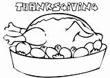 Coloring Thanksgiving Dinner Turkey Table Pages Template Print Printable Coloringpagebook Advertisement Templates Getcolorings Getcoloringpages sketch template
