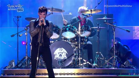 adam lambert don t stop me now queen adam lambert don t stop me now rock in rio 2015