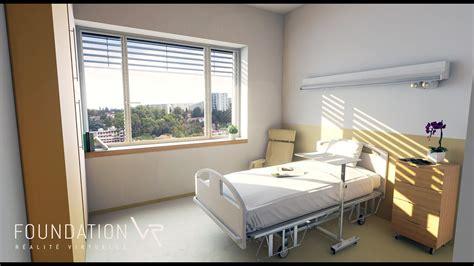 chambre de disconnection chambre d 39 hôpital en réalité virtuelle