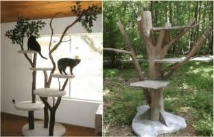 ideen aus holz zum selber machen kratzbaum selber bauen 67 ideen und bauanleitungen archzine net