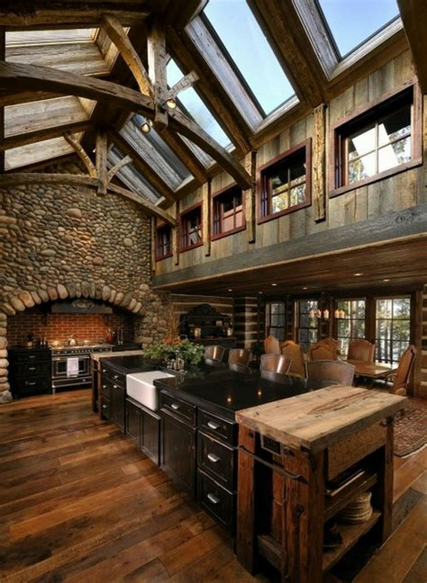 pictures of rustic kitchens 44 reclaimed wood rustic countertop ideas decoholic