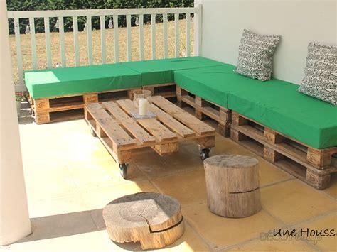 housse canapé extérieur 4 housses de canapé palette usage extérieur par une housse