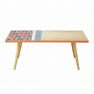 Table Basse Retro : table basse r tro ethnique bamako maisons du monde ~ Teatrodelosmanantiales.com Idées de Décoration