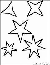 Coloring Stars Star Shape Shapes Drawing Pages Printable Outline Various Colouring Shaped Five Cliparts Easy Line Library Clipart Popular Clip sketch template