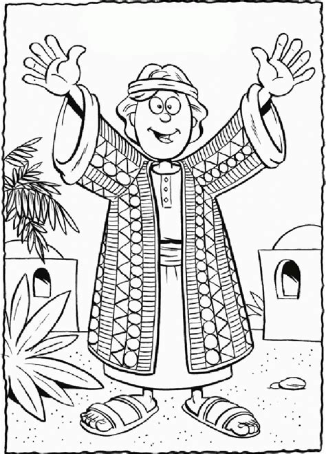 joseph   brothers coloring pages coloring home