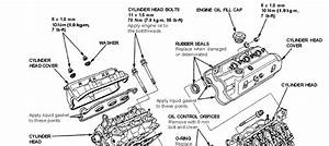 How To Change The Valve Cover Gaskets On A 1992 Acura