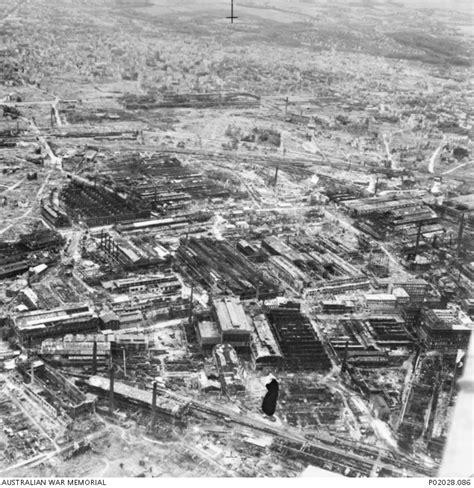 factory essen essen germany c 1943 aerial photograph of the krupp