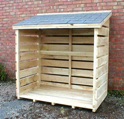 farm shed construction uk wooden log store  doors