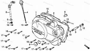 Honda Motorcycle 1982 Oem Parts Diagram For Right
