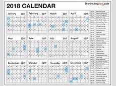 2018 Calendar Uae – Merry Christmas And Happy New Year 2018