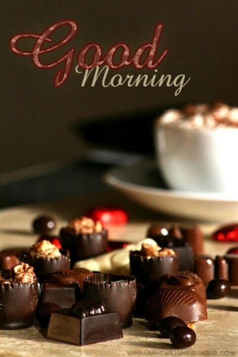 good morning chocolate pictures   images