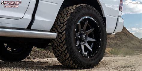 Dodge Ram 1500 Fuel Rampage D238 Wheels Anthracite center