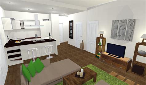 decoration salon avec cuisine ouverte cuisine ouverte sur salon avec idee deco cuisine ouverte sur salon inspirations avec