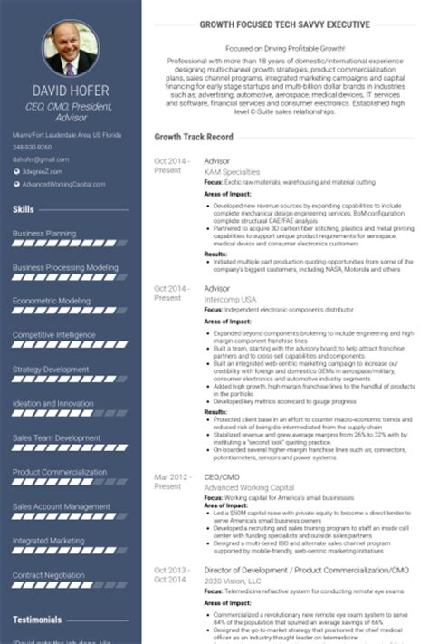 Resume For Position On Board Of Directors by Board Member Resume Sles Visualcv Resume Sles Database