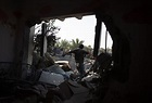 Israel Strikes Hamas Targets After 2 Rockets Fired From ...