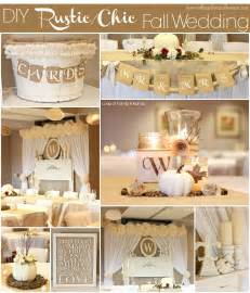 rustic chic wedding diy rustic chic fall wedding reveal of family home