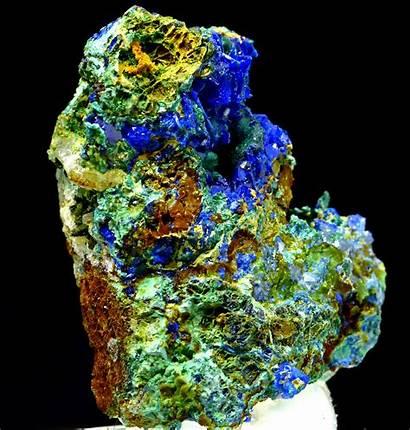 Rare Minerals Crystals Mineral Linarite Spiriferminerals Colourful