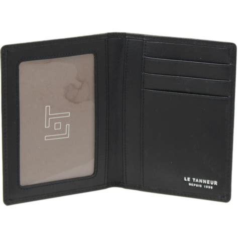 porte cartes cuir multifonction le tanneur portefeuille porte cartes homme