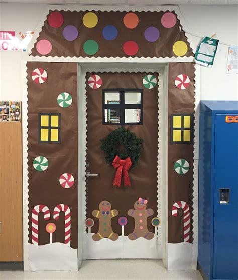 creative elementary school counselor winter door