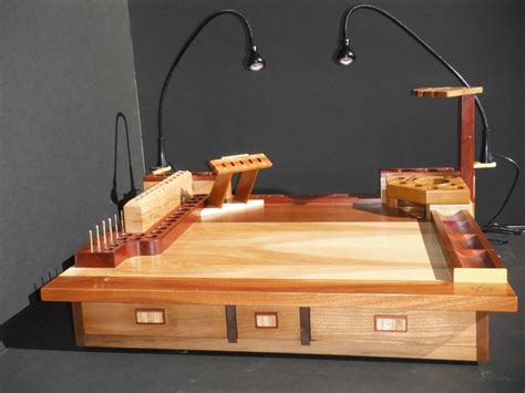 Fly Tying Desk Top Plans by 17 Best Images About Fly Tying Benches Boxes On