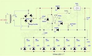 Emergency Led Light Circuit