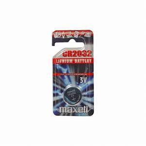 Pile Bouton Cr2032 : pile bouton cr2032 lithium 3v maxell ~ Melissatoandfro.com Idées de Décoration