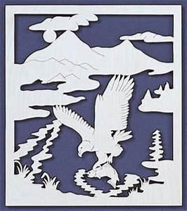 Eagle Fishing Scroll Saw Fretwork Pattern – Scrollsaw com