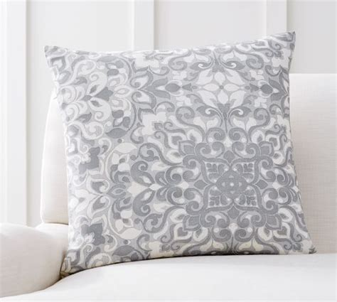 Nell Beaded Pillow Cover Pottery Barn by Shoptagr Elsin Printed Pillow Cover By Pottery Barn