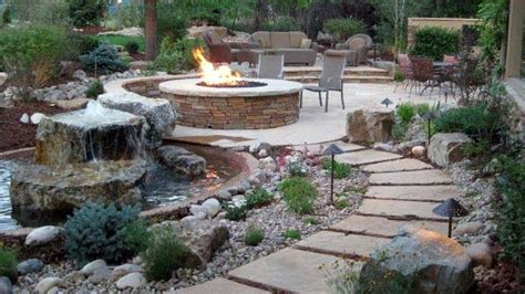 Landscape Backyard Design Ideas - top 50 best pit landscaping ideas backyard designs