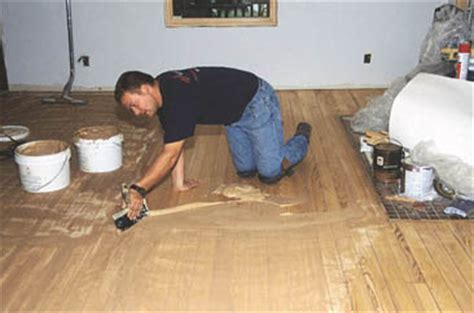 Finishing Moves: Repairing Hardwood Floors   Extreme How To