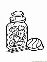Coloring Candy Pages Box Corn Printable Print Adults Coloringpages101 Popular Coloringhome sketch template