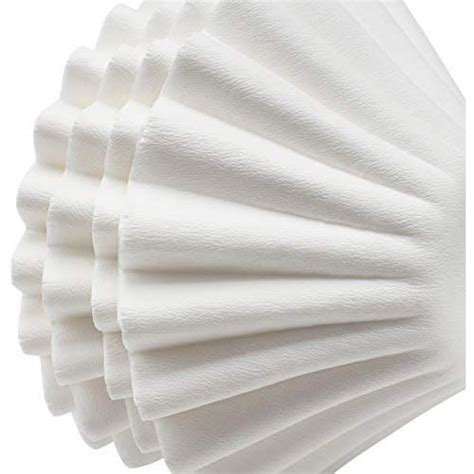 If the filter is made of paper, cloth or any other absorbent fiber, more. 100PCS Coffee Filter white