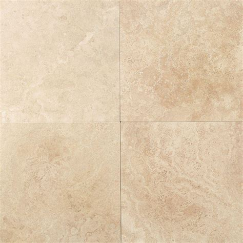 ivory travertine tile daltile travertine mediterranean ivory 12 in x 12 in natural stone floor and wall tile 10 sq