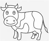 Cow Coloring Clipart Pages Clip Andw Clipartcow Pngkey Svg Clipground Pikpng sketch template