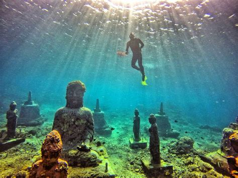 tempat snorkeling terbaik  pulau bali indonesia