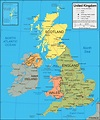 United Kingdom Map | England, Scotland, Northern Ireland ...