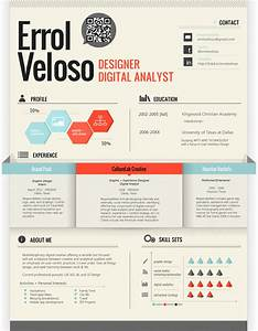 50 awesome resume designs that will bag the job hongkiat With innovative resume