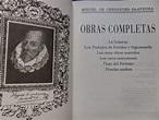 LA PLUMA LIBROS: OBRAS COMPLETAS - MIGUEL DE CERVANTES ...