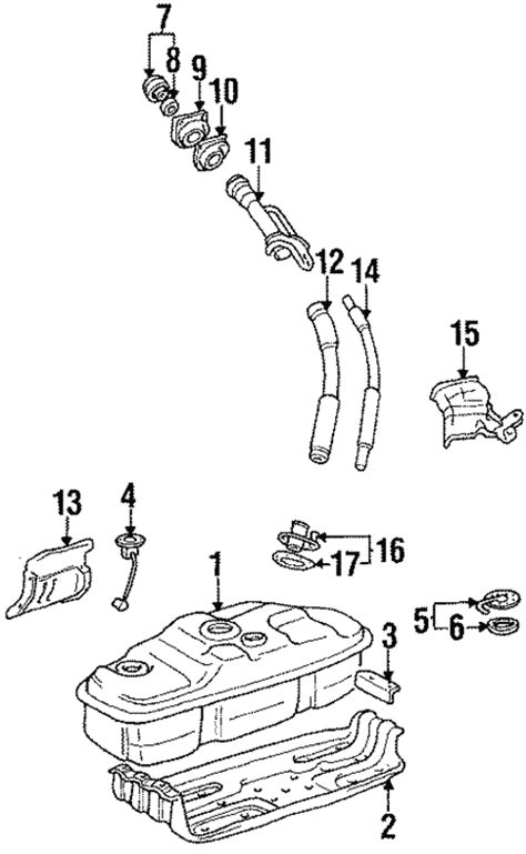 Fuel System Components for 1994 Toyota 4Runner   Toyota Parts