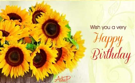 sunny birthday flowers wishes  happy birthday ecards