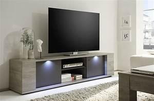 Moderne Tv Lowboards : acheter un meuble t l comment bien le choisir c t maison ~ Whattoseeinmadrid.com Haus und Dekorationen