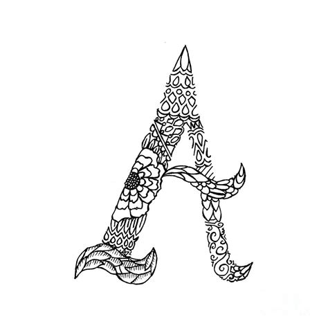 patterned letter  drawing  alyssa zeldenrust