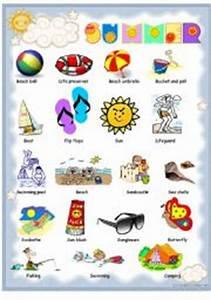 English teaching worksheets: Summer