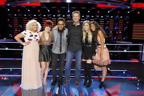 blake shelton team knockouts conclude team blake ready for live shows on