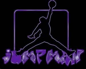 Purple Jordan Logo