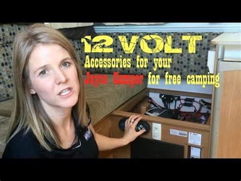 volt accessories  jayco caravan camper trailer