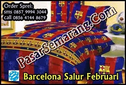 sprei bola barca jual aksesoris barcelona sprei barcelona logo terbaru