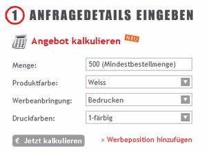 Angebotsfunktion Berechnen : neue funktion angebot erstellen werbeartikel werbegeschenke ~ Themetempest.com Abrechnung